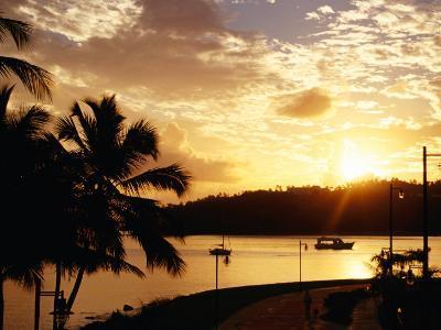 Samana Bay at Sunset, Samana, Dominican Republic