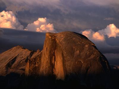Half Dome in Yosemite National Park, Yosemite National Park, USA