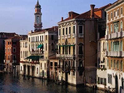 Grand Canal from Rialto Bridge Venice, Italy