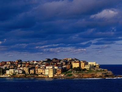 North Bondi Headland at Sunset, Sydney, Australia