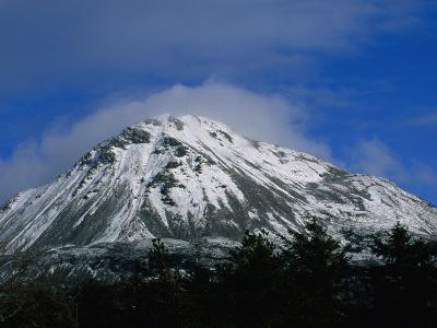 Errigal Mountain in County Donegal in Winter, Ireland