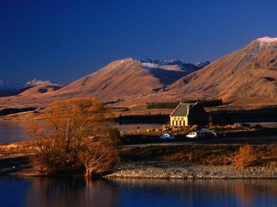 Church of the Good Shepherd, Set on the Shores of Lake Tekapo, Canterbury, New Zealand