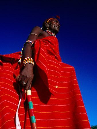 Samburu Warrior, Maralal, Kenya