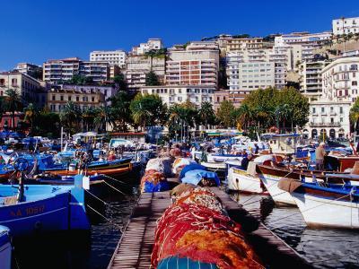 Porticciolo (Marina) at Mergellina, Naples, Italy