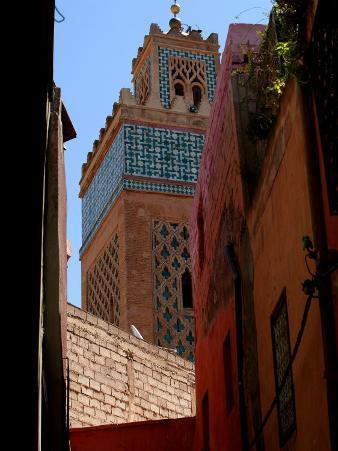 Kasbah Mosque, Marrakesh, Morocco