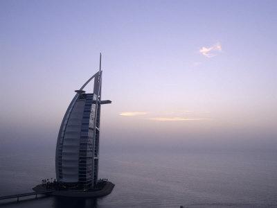 Exterior of Burj Al Arab Hotel, Dubai, United Arab Emirates