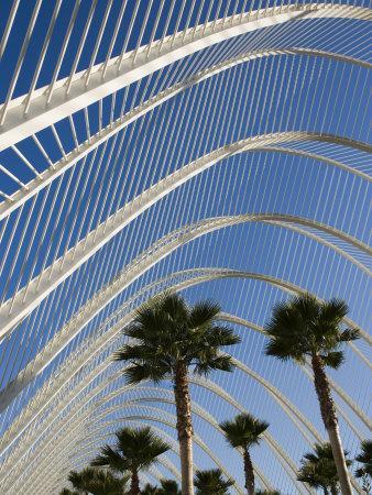 El Ombracle (Walkway / Garden ), City of Arts and Sciences, Valencia, Spain