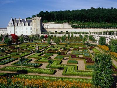 Chateau De Villandry Vegetable Garden, Villandry, France