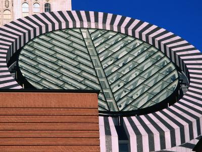 Detail of Museum of Modern Art's Exterior, San Francisco, USA