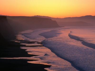 Drakes Bay at Sunrise, Point Reyes National Seashore, USA