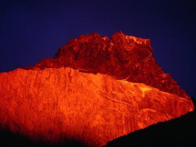Sunrise on Cuerno Principal, Torres Del Paine National Park, Chile