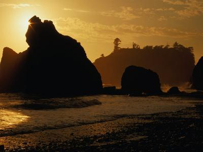 Ruby Beach at Sunset, Olympic National Park, USA