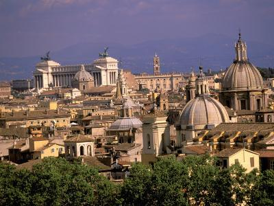 City View and Monumento Vittorio Emanuele Il, The Vatican, Rome, Italy