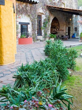 Grounds and Buildings of Historic La Valenciana Mine, Guanajuato State, Mexico