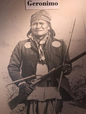 Poster of Geronimo Indian Chief, America's Gunfight Capital, Tombstone, Arizona, USA