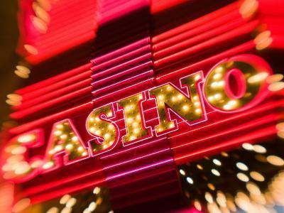 Freemont Street Experience, Downtown Binion's Horseshoe Casino, Las Vegas, Nevada, USA