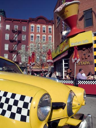 Greewich Village, Caliente Cab Company Restaurant and Bar, New York, New York, USA