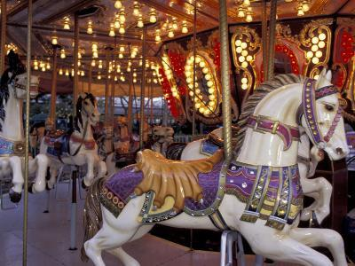 Carousel, Seattle, Washington, USA