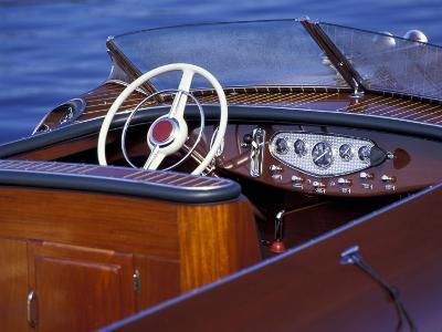 Antique and Classic Boat Society Show on Lake Washington, Seattle, Washington, USA
