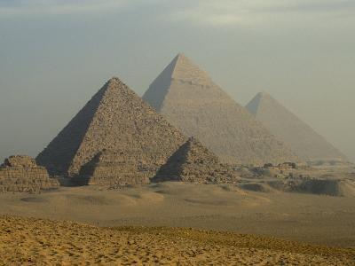 Giza Pyramids Complex, Egypt