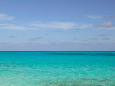 View of the Atlantic Ocean, Loyalist Cays, Abacos, Bahamas