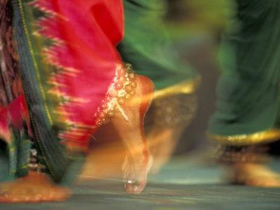 Indian Cultural Dances, Port of Spain, Trinidad, Caribbean