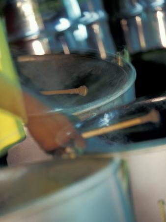 Steel Drums, Port of Spain, Trinidad, Caribbean