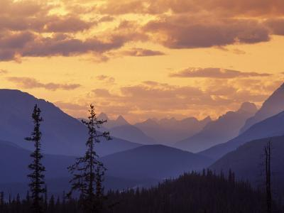 Sunset in Banff National Park, Alberta, Canada