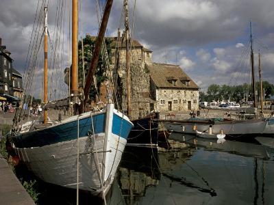 Old Port, Honfleur, Normandy, France