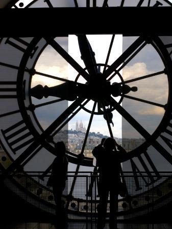 Musee d'Orsay's Clock Window, Paris, France