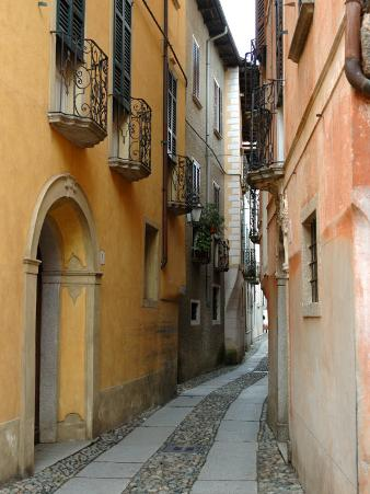 Narrow Street, Lake Orta, Orta, Italy