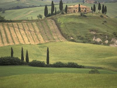 Tuscan Villa, Val d'Orcia, Italy