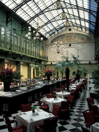 Grand Hotel Krasnapolsky and Winter Garden Restaurant, Amsterdam, Holland