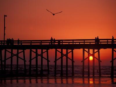 Newport Beach Pier, California, USA