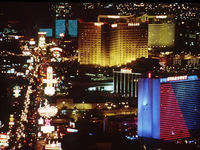 Holiday Page Las Vegas at Night, 1997