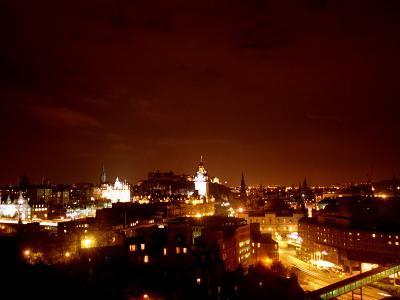 Edinburgh City at Night, October 1999
