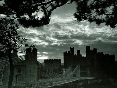 Night Hides the Scars of Seven Centuries; Conway Castle, March 1942