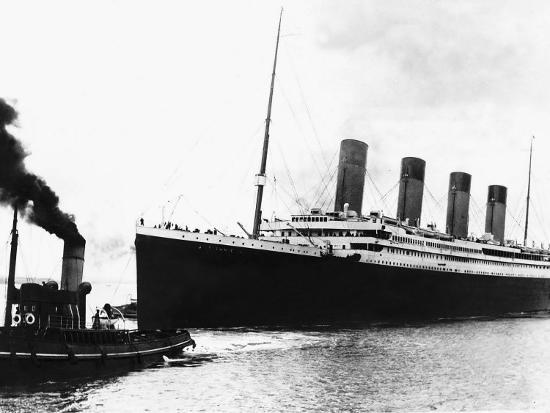 The Titanic in 1912 Proir to Maiden Voyage Brochure ...