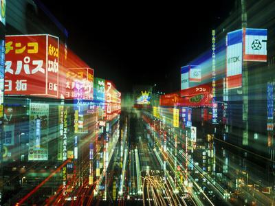 Neon, Tokyo, Japan