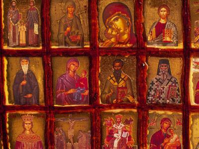 Orthodox Church with Portraits of Religious Figures, Athens, Greece