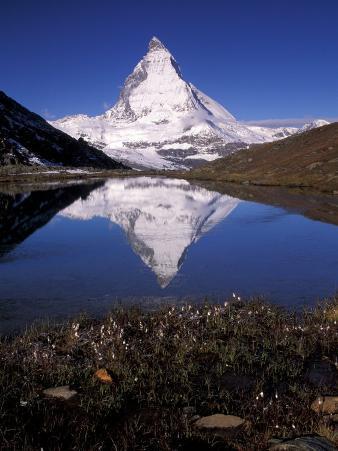 Matterhorn in Zermat Region, Switzerland