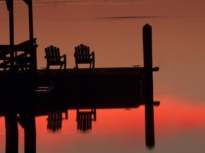 Sunrise, Isle of Hope, Savannah, Georgia, USA