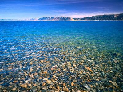 Clear Water of Bear Lake, Near Rendezvous Beach, Utah, USA