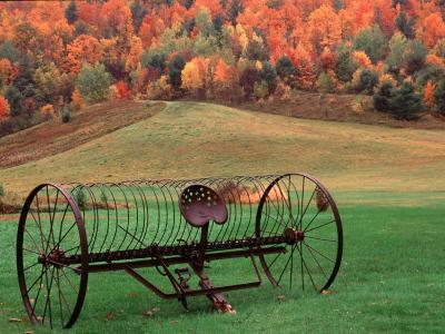 Farm Scene, Vermont, USA