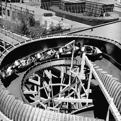 Bobsled Ride at New York World's Fair