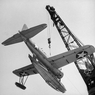U.S. Navy Seaplane Tender