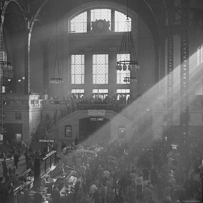 Salvation Army Meeting Held at Union Station