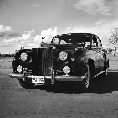 Photograph of a 1930 Rolls-Royce Phantom II Mulliner Continental Tourer, c.1958