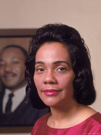 Coretta Scott King, Widow of Civil Rights Leader Martin Luther King, Jr