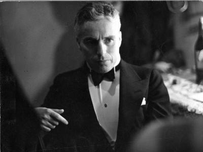 Candid Portrait of Actor/Director Charlie Chaplin in Evening Clothes